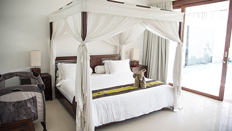 Canggu Villa Merah Bali Accommodation Bedroom 1