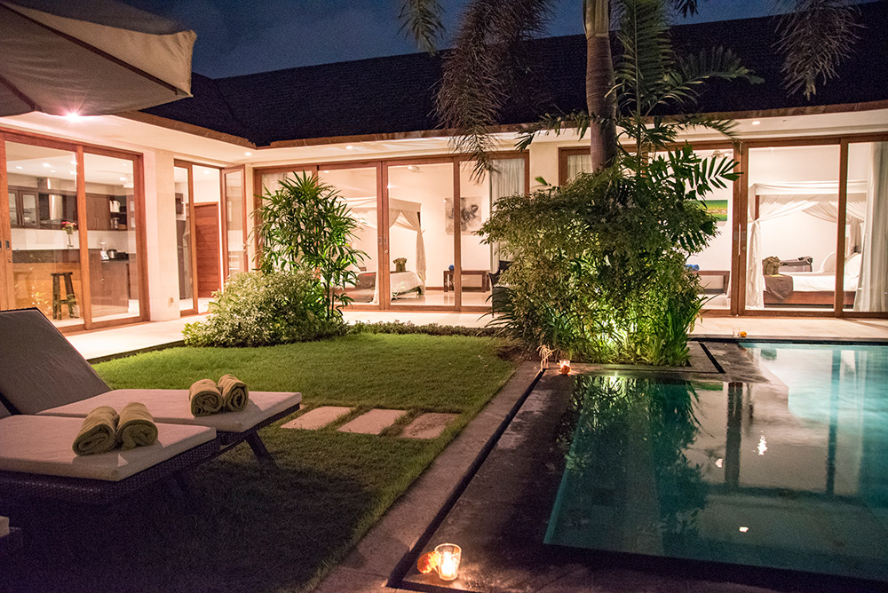 Canggu Villa Merah Bali Canggu Accommodation - Outside Pool Area