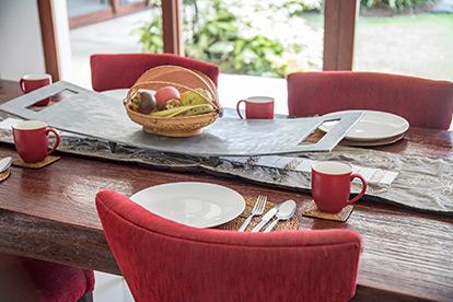 Canggu Villa Merah Bali Daily Breakfast