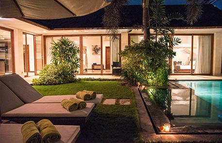 Canggu Villa Merah Bali Holiday Getaway Pool