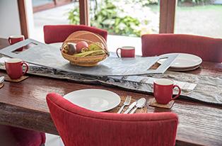 Canggu Villa Merah Bali Holiday Getaway Dining