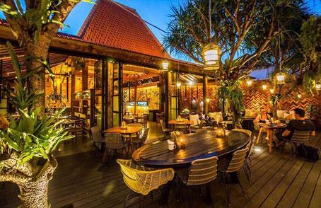 Canggu Villa Merah Bali Restaurants Nice Food